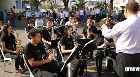 Pará de Minas sedia 16º Encontro Regional de Bandas