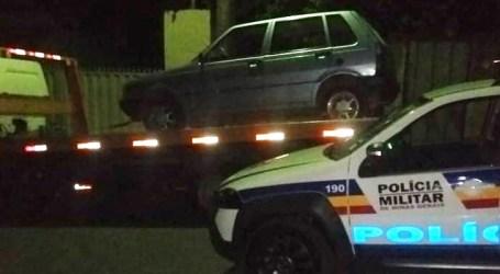 Dois presos em Igaratinga com carro furtado em Pará de Minas