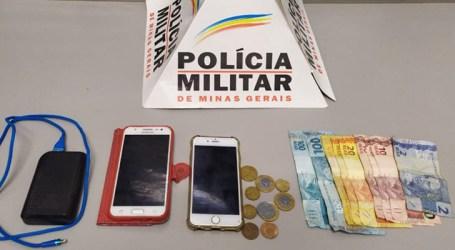 Preso suspeito de furtar celular no Centro de Pará de Minas; aparelho foi recuperado