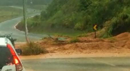 Chuvas em Pará de Minas: córrego Água Limpa e ribeirão Paciência podem transbordar e barreira cai na BR 262