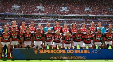 Flamengo bate o Athletico-PR e conquista a Supercopa do Brasil