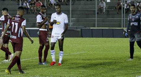 Cruzeiro consegue empate com o Patrocinense no último minuto