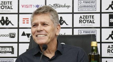 Paulo Autuori assume o comando técnico do Botafogo