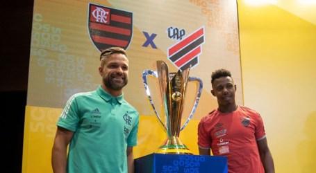 Flamengo e Athletico-PR duelam por Supercopa do Brasil