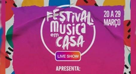 """Universal Music e GTS promovem o """"Festival Música em Casa"""""""