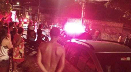 Acidente no Santos Dumont deixa motociclista ferida