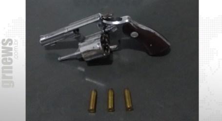 ROTAM apoia operação e apreende arma de fogo em Papagaios