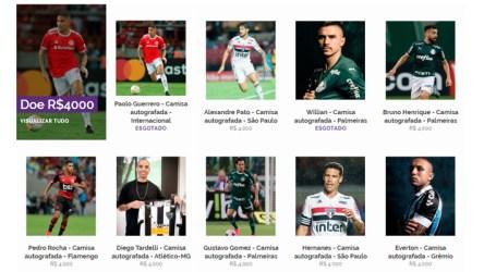 Desafio Corona: estrelas do futebol na luta contra COVID-19
