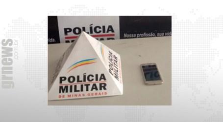 Detido com celular roubado em Pitangui