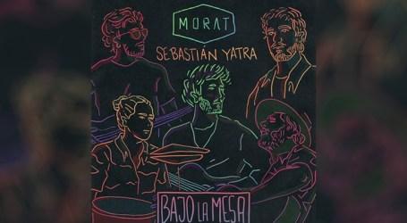 """Morat e Sebastián Yatra apresentam juntos, pela primeira vez, a canção """"Bajo La Mesa"""""""
