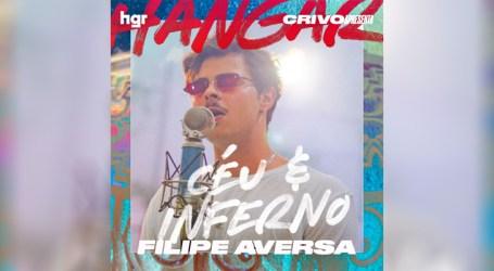 """Aversa apresenta pop melancólico e esperançoso em """"Céu e Inferno"""""""
