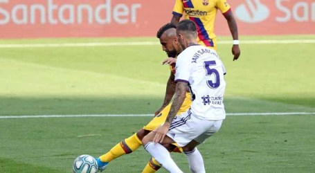 No sufoco, Barcelona vence Valladolid e segue na disputa do Campeonato Espanhol
