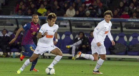Barcelona derrota o Santos em disputa jurídica por Neymar