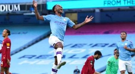 Manchester City goleia e carimba faixa de campeão do Liverpool
