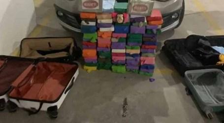 Polícia Federal apreende 80 kg de cocaína na segunda fase da Operação ASSEPSIA