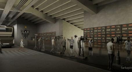 Arena MRV contará com muita tecnologia, conforto e segurança para a imprensa