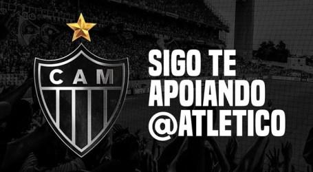Atlético foi o 2º clube brasileiro com mais interações no Twitter em junho
