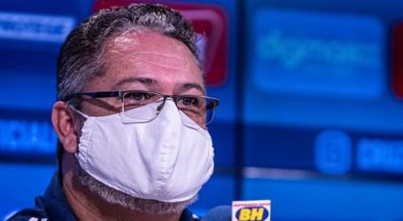 Rogério Micale reforça a intenção de formar atletas e equipes ofensivas no Cruzeiro