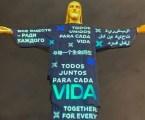 Missa no Rio de Janeiro homenageia os mais de 100 mil mortos por covid-19 o Brasil