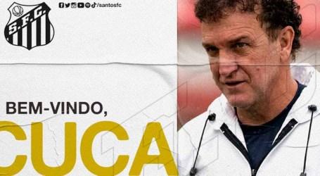 Cuca assume comando técnico do Santos