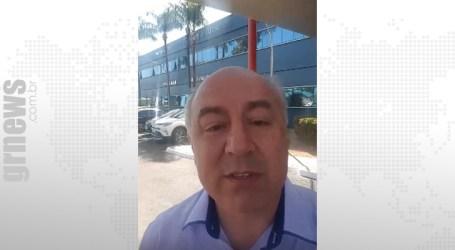 Elias Diniz está em Barretos para conhecer modelo de gestão do Hospital do Câncer