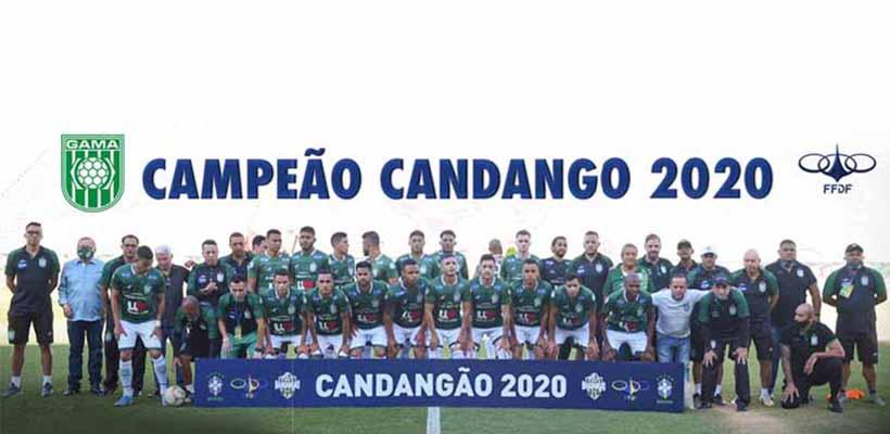 Gama é bicampeão do Candangão – Portal GRNEWS