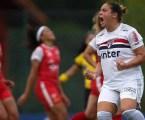 Gláucia brilha e São Paulo vence no Brasileiro Feminino