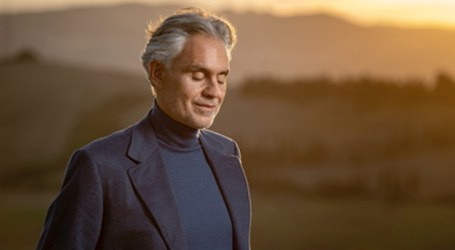 "Andrea Bocelli apresenta seu novo álbum, ""Believe"""