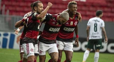 Flamengo derrota o Palmeiras e segue na luta pelo título
