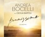 """Andrea Bocelli apresenta uma nova versão de """"Pianissimo"""", dueto com Cecilia Bartoli"""