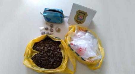Polícia Civil prende mulher suspeita de tráfico e apreende drogas em Nova Serrana