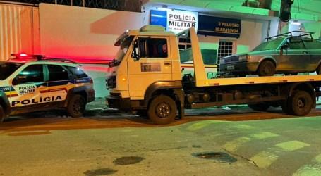 PM recupera em Igaratinga veículo furtado em Pará de Minas