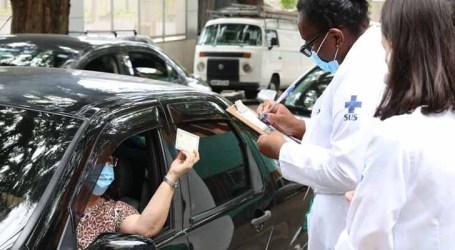 São Paulo reabre unidades de drive-thru para vacinação contra Covid-19