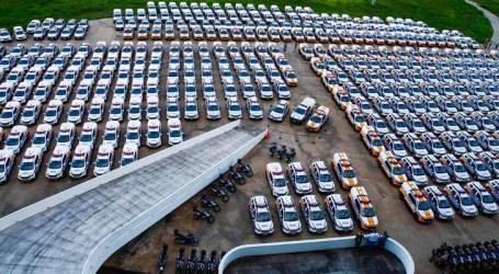 Zema entrega mais de 600 viaturas para reforçar a segurança pública em municípios mineiros