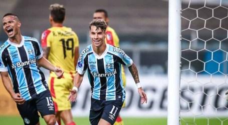 Grêmio aplica goleada de 8×0 na Copa Sul-Americana