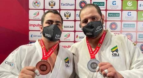 Judô brasileiro fecha Grand Slam de Kazan com 2 pratas e 3 bronzes