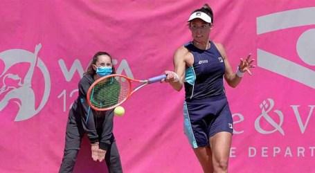 Dupla Luisa Stefani e Hayley Carter avança às semifinais de WTA de Saint Malo