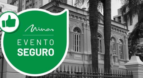 Espaços culturais e eventos em Minas Gerais podem solicitar Selo Evento Seguro