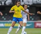 Seleção brasileira feminina empata com Canadá no último amistoso antes de Tóquio