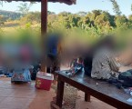 PM encerra rave clandestina e prende seis pessoas em Itaúna