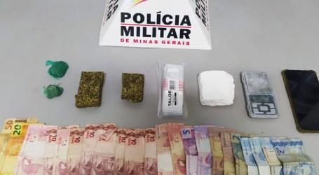 Denunciado por tráfico é preso em condomínio no Grão-Pará com maconha, cocaína e dinheiro