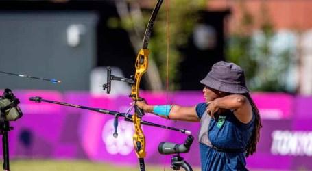 Jogos de Tóquio: Ane Marcelle se classifica como 33ª no tiro com arco