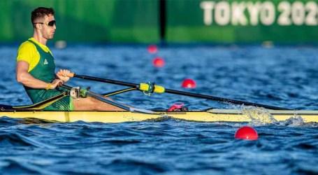 Olimpíada: Lucas Verthein se classifica para as quartas de final do skiff simples