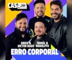 """Diego & Victor Hugo e Israel & Rodolffo se unem pela primeira vez na música inédita """"Erro Corporal"""""""