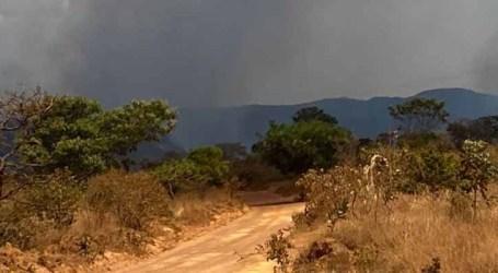 Incêndio na região da Chapada dos Veadeiros mobiliza mais de 150 profissionais