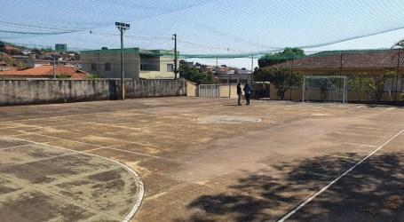 Três empresas seguem na disputa para reformar quadra da Escola Municipal José Porfírio no Belvedere