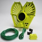 4 inch gate expander with blast gate