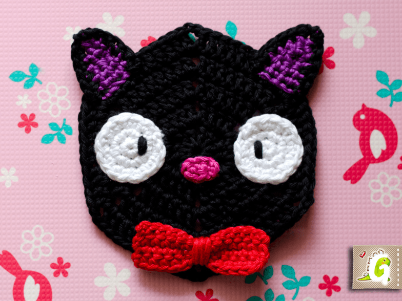 Crochet Jiji hexagon