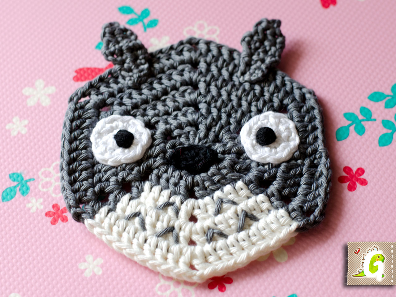 Groaaar totoro hexagon totoro is a trademark of kabushiki kaisha studio ghibli this pattern is for private use only you are not allowed to sell this pattern or items made by bankloansurffo Images