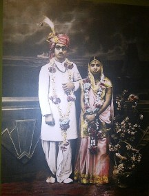 An Indian marriage..